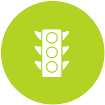 SEO Traffic Signal Icon