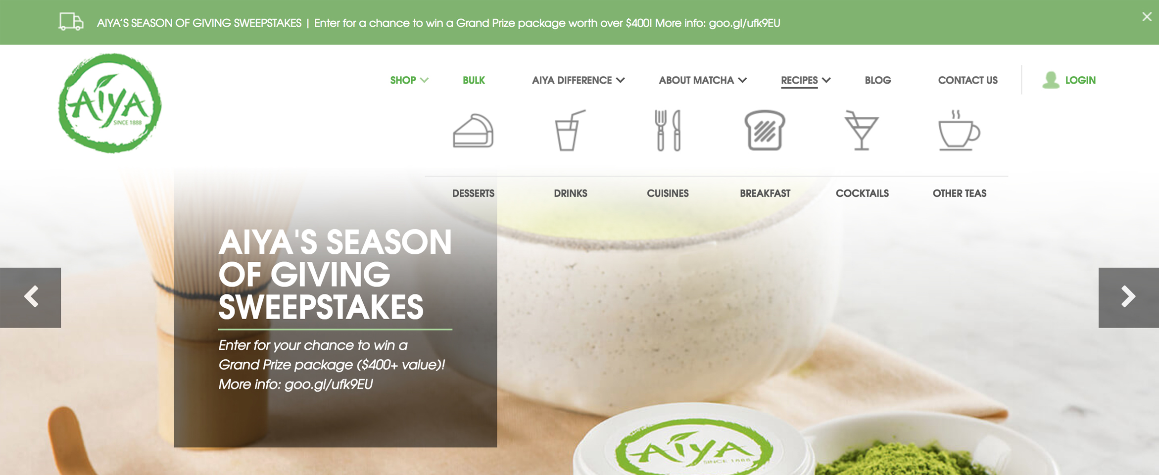 Premium Matcha Tea Company Brews a New Look Online Build Image-1