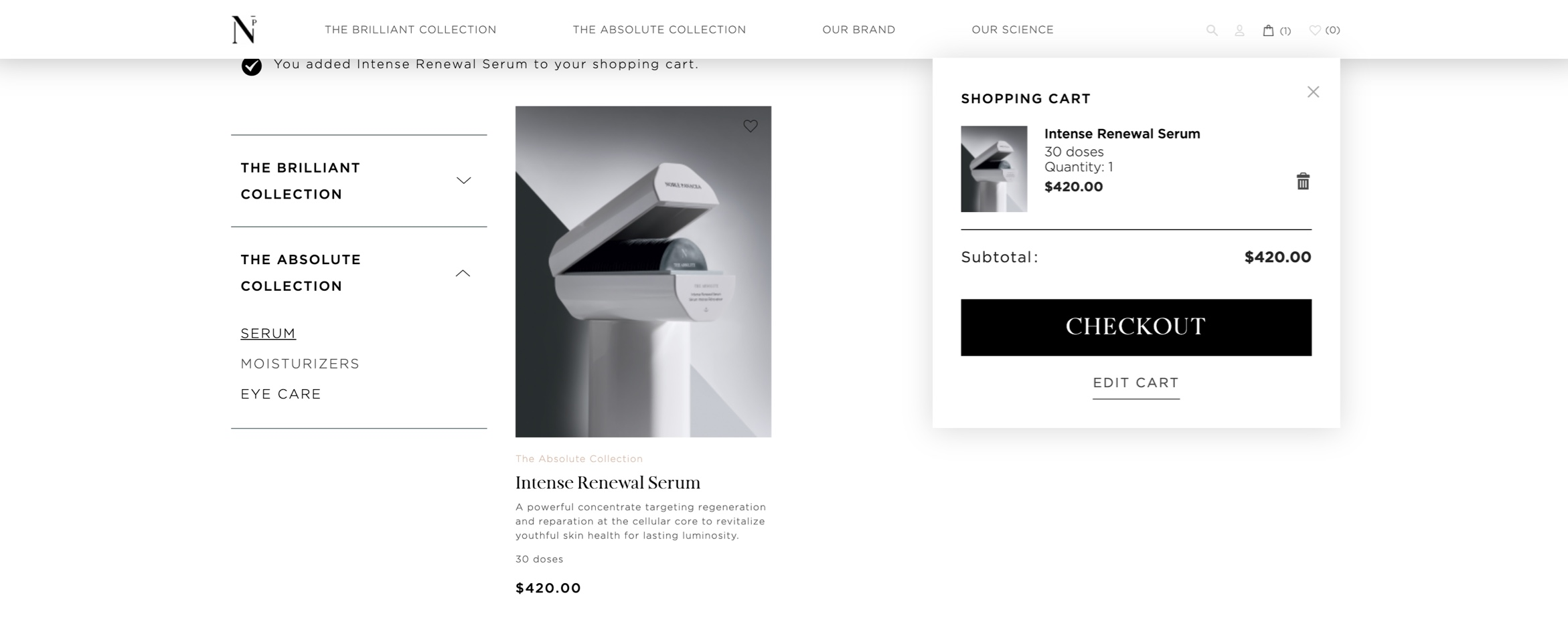 A Rich Website for a Luxury Skincare Brand Build Image-2
